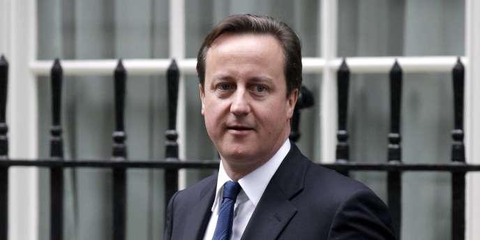 Le premier ministre britannique David Cameron.