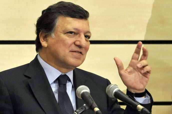 José Manuel Barroso, président de la Commission européenne.