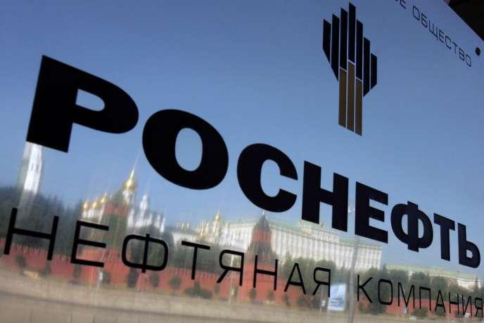 Le siège de la compagnie Rosneft, à Moscou, face au Kremlin.