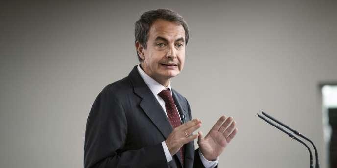 José Luis Rodriguez Zapatero, à Madrid, le 20 octobre 2010.