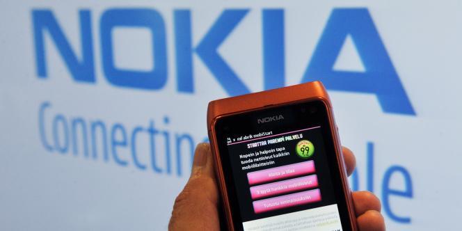Un terminal Nokia.