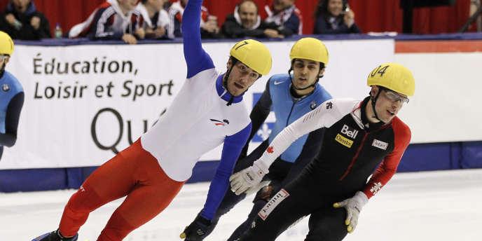 Victoire de fauconnet en coupe du monde de patinage de vitesse - Vainqueur coupe du monde 2010 ...
