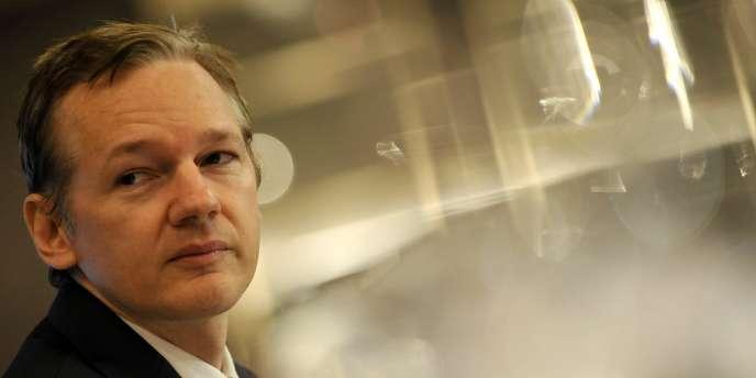 Julian Assange, le fondateur de WikiLeaks, le 23 octobre 2010.