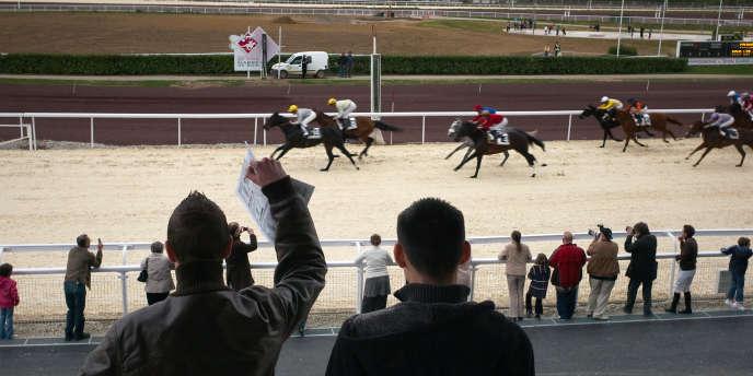 Les courses de chevaux drainent en France un public de passionnés.