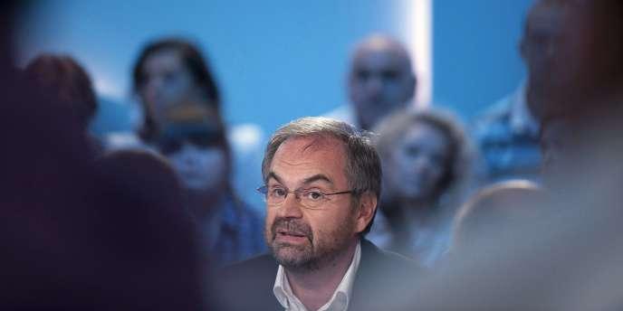 Le secrétaire général de la CFDT François Chérèque.