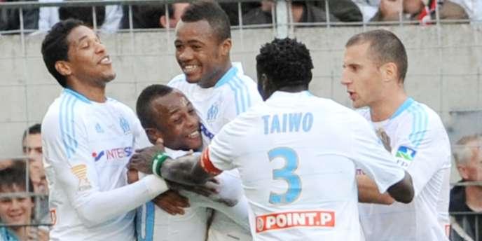 André Ayew avait marqué le but décisif de Marseille face à Guingamp en huitièmes de finale de la Coupe de la Ligue.