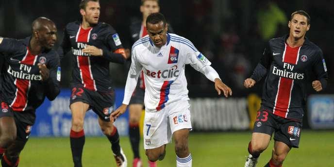 Mercredi, le but de Briand n'a pas suffi pour Lyon face au PSG en 8e de finale de la Coupe de la Ligue (1-2).