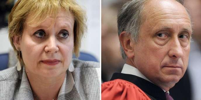 Un conflit oppose à Nanterre, lieu actuel des procédures, la présidente du tribunal Isabelle Prévost-Desprez et le procureur Philippe Courroye.