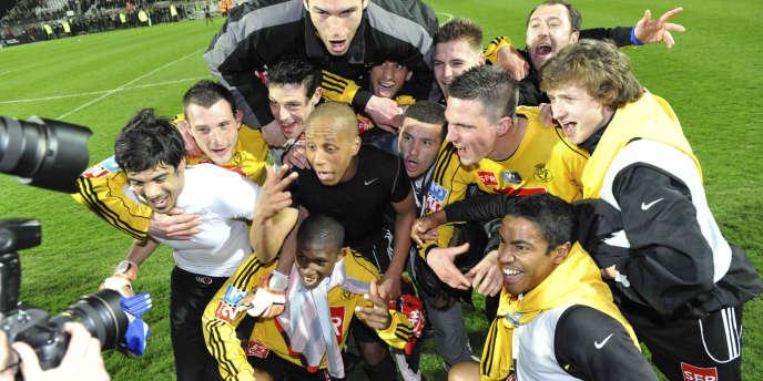 Les joueurs de Quevilly avait hissé haut le foot amateur en atteignant les demi-finales de la Coupe de France 2009.