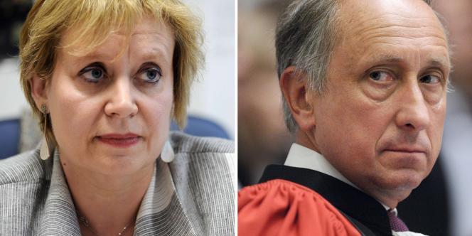 Ces demandes de dépaysement, réclamées depuis des mois par les syndicats de magistrats et l'opposition, ont été annoncées au plus fort du conflit qui oppose le procureur Courroye à la magistrate Prévost-Desprez.