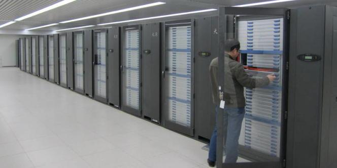 La première version du supercalculateur Tianhe,