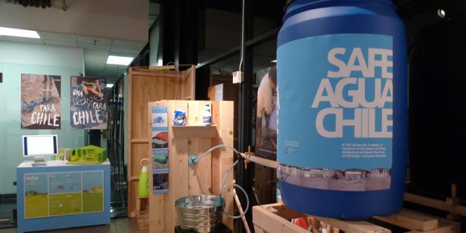 Safe Agua, un programme pour faciliter le stockage, l'utilisation, le transport et la conservation d'eau pour les habitants de bidonvilles du Chili