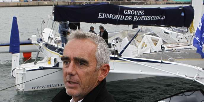 Loïck Peyron le 27 octobre à Saint-Malo.