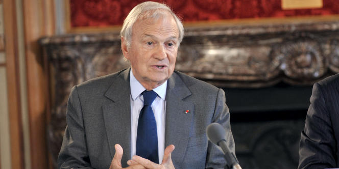 Claude Bébéar, ancien président du conseil de surveillance d'Axa.