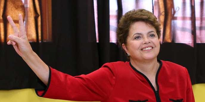 Dilma Rousseff, l'ex-guérillera devenue économiste et technocrate, prendra la tête du Brésil le 1er janvier.