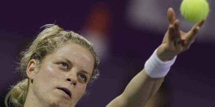 Kim Clijsters jouera dimanche la finale du Masters de Doha face à Caroline Wozniacki.