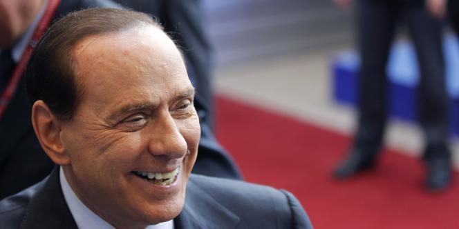 Silvio Berlusconi à Bruxelles, en octobre 2010.