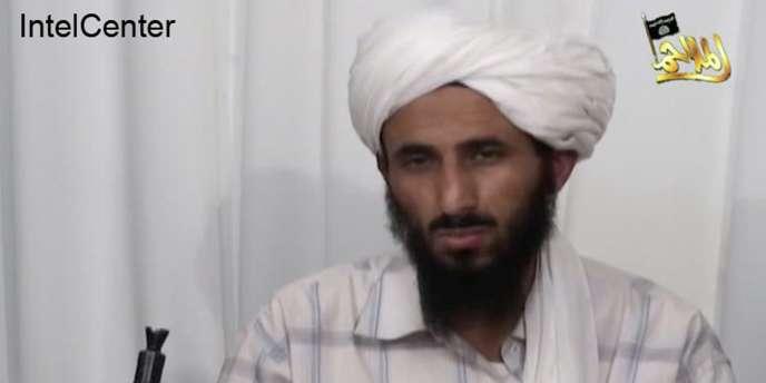 Al-Qaida pour la péninsule arabique (AQPA) est dirigé par Nasser Al-Wahichi, qui affirmé son allégeance au successeur d'Oussama Ben Laden (photo extraite d'une vidéo datant de janvier 2009).