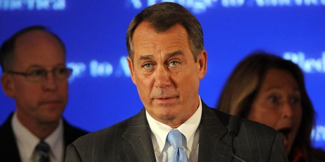 John Boehner, nouveau leader républicain à la Chambre des représentants, après la victoire de son parti aux élections de mi-mandat.