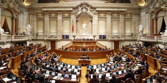 Le Parlement, Lisbonne.