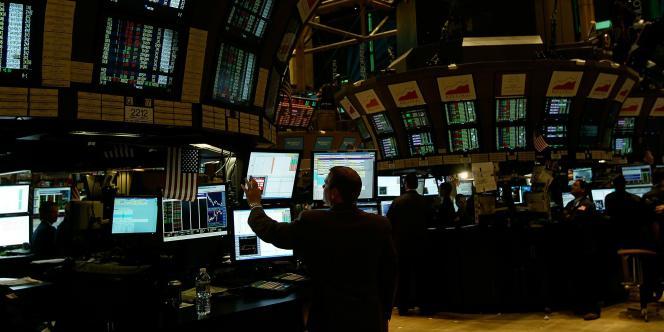 La bourse de New-York, le 3 novembre 2010.