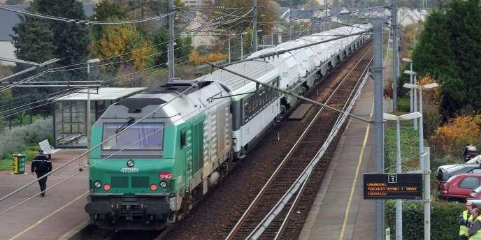 Un train de transport des déchets nucléaires en direction de l'Allemagne avait déjà provoqué la polémique en novembre 2010.