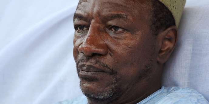 Agé de 72 ans, Alpha Condé, l'un des deux candidats au second tour de la présidentielle en Guinée, a combattu tous les régimes, ce qui lui vaut le titre d'