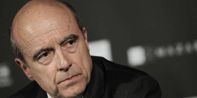 Le ministre des affaires étrangères, Alain Juppé, en avril 2010.