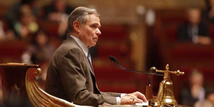 Bernard Accoyer, député de Haute-Savoie et ancien président de l'Assemblée nationale (ici en octobre 2010), a reçu en 2011 la plus importante réserve parlementaire (près de 12 millions d'euros).