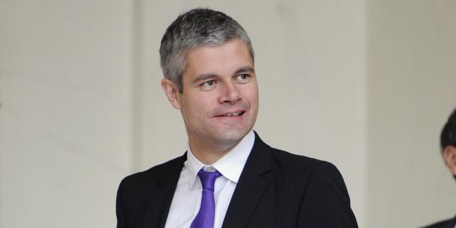 Laurent Wauquiez, ministre de l'enseignement supérieur et de la recherche, en novembre 2010 à l'Elysée.
