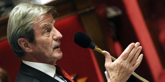 Bernard Kouchner à l'Assemblée nationale, le 9 novembre.