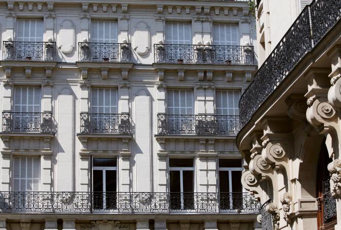 Un immeuble à Paris.