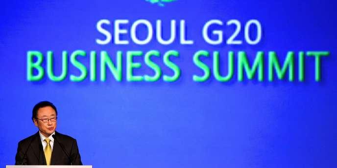 Le sommet du G20 se tiendra à Séoul les jeudi 11 et vendredi 12 novembre.