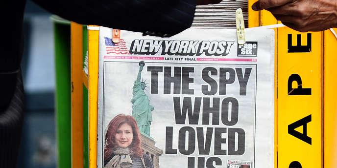 Anna Chapman, l'espionne russe faisait la une du