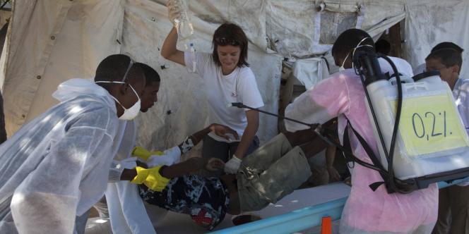 Le bilan du choléra dans la capitale, qui était toujours d'un mort mercredi, est monté à quatre jeudi.