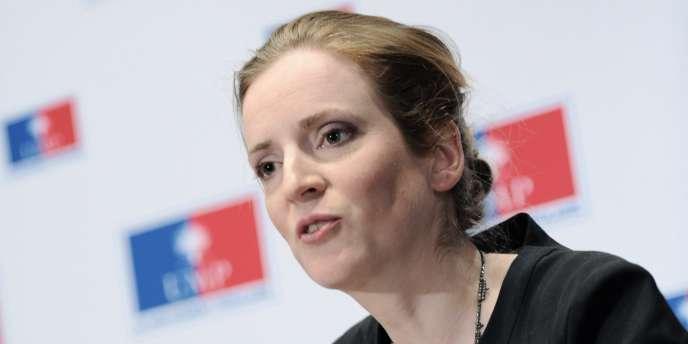 Nathalie Kosciusko-Morizet, lors d'une conférence de presse à Paris, le 19 mai 2010.
