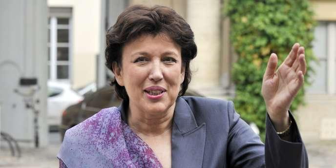 Roselyne Bachelot, le 15 novembre 2010 à Paris.