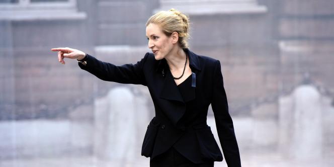 Nathalie Kosciusko-Morizet, le 15 novembre 2010, à Paris.