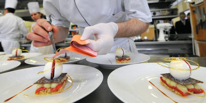 Concours de dessert, le 1er avril 2010.