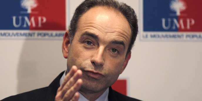 Jean-François Copé lors d'une conférence de presse à Paris, le 17 novembre 2010.