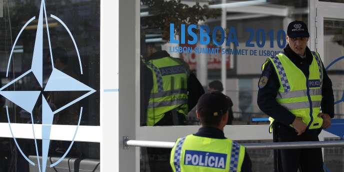 Sommet de l'OTAN à Lisbonne, le 19-20 novembre 2010.