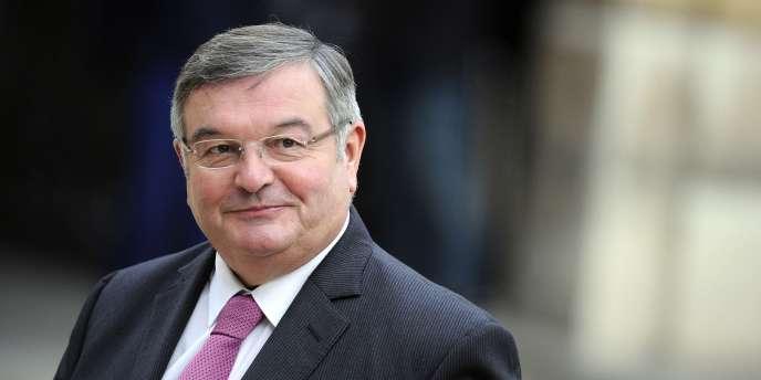 Le garde des sceaux, Michel Mercier, le 17 novembre 2010.