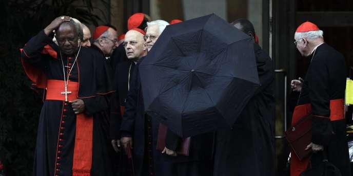 Les cardinaux du monde entier ont été réunis par le pape Benoît XVI, le 19 novembre 2010, afin d'évoquer, pour la première fois, la