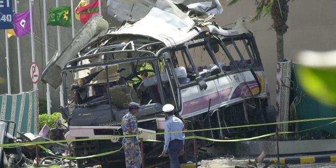 L'attentat du 8 mai 2002 à Karachi a tué quatorze personnes, dont onze salariés français de la DCN.