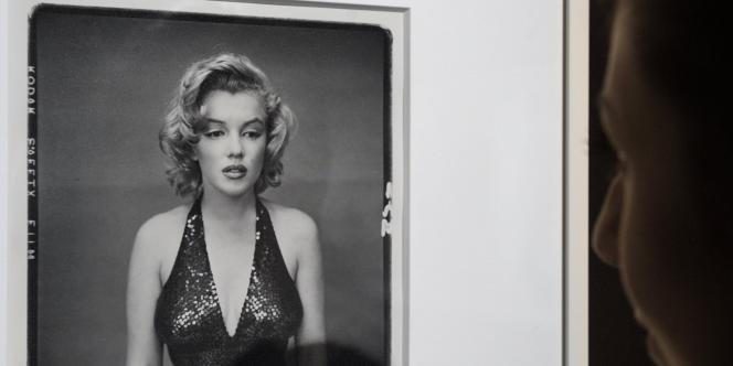 Le portrait de Marilyn Monroe, pris en 1957 à New York a été adjugé  169 000 euros.