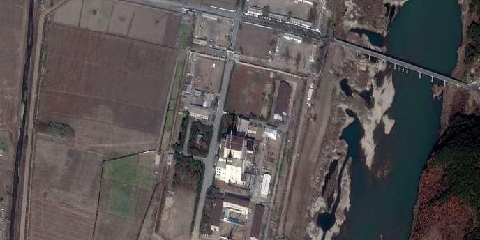 Vue satellite du complexe nucléaire de Yongbyon, en Corée du Nord.