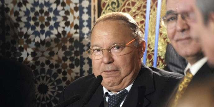 Dalil Boubakeur, le 11novembre2010.