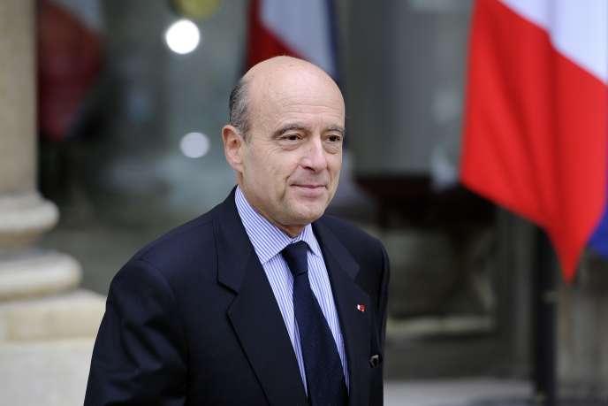 Alain Juppé, en novembre 2010.