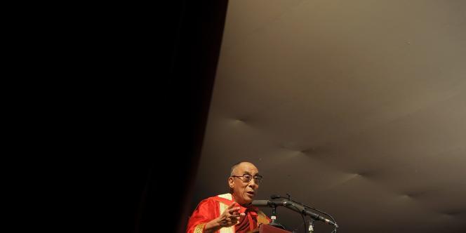 Le dala-lama à New Dehli, en novembre 2010.
