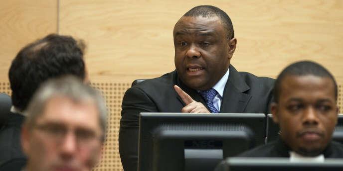 Jean-Pierre Bemba, à l'ouverture de son procès pour